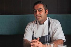 Sid Sahrawat, owner & chef of Sidart Restaurant. Photo / Doug Sherring