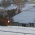 Snow at Calton Hill, Dunedin. Photo / Leo Bouma
