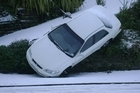 Carparking is proving a little problematic in Dunedin this Sunday afternoon. Photo / Peter Dunn