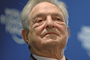 At 80, George Soros plans to focus on philanthropy, and on voicing his views on macroeconomic events, such as Europe's debt crisis. Photo / Wikimedia Commons image posted by the World Economic Forum