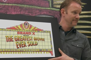 Morgan Spurlock in  The Greatest Movie Ever Sold . Photo / Supplied
