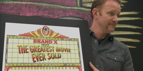 Morgan Spurlock in <i>The Greatest Movie Ever Sold</i>. Photo / Supplied