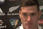 All Black Cory Jane speaks about selection as a standby player in an extended All Black squad and selection on the right wing for tomorrow's Tri Nations test against the Springboks at Eden Park.