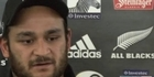 Watch: Piri Weepu: 'Impress at every opportunity'