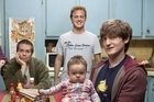 Raising Hope's friendly white trash family has shades of sitcoms gone by. Photo / Supplied