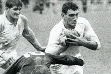 Ken Gray in action in 1968. Photo / NZ Herald Archives 