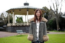 Miyu Sato was at school during the holidays when the earthquake and tsunami struck. Photo / Steven McNicholl