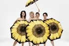 Theresa Healey, Jennifer Ludlam, Hera Dunleavy and Kate-Louise Elliott are the Calendar Girls. Photo / Supplied