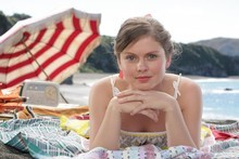 Rose McIver plays Nerissa Love in the TV movie, 'Tangiwai.' Photo / Supplied