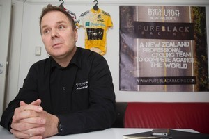 Pure Black co-founder Greg Cross says many business executives cycle together in their spare time. Photo / Paul Estcourt