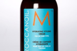 Moroccan Oil Hydrating Styling Cream $56.50. Photo / Babiche Martens