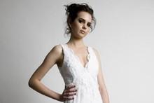 Bid for a Sera Lilly wedding dress online. Photo / Supplied