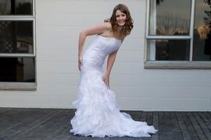 The dress Lisa Murray received. Photo / Martin Hunter