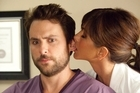 Charlie Day (left) and Jennifer Aniston are shown in a scene from <i>Horrible Bosses</i>. Photo / Supplied