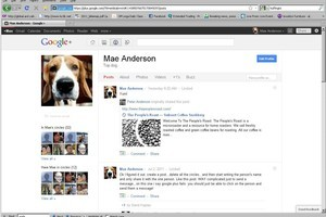 Google+ users can follow anyone without being accepted. Photo / AP