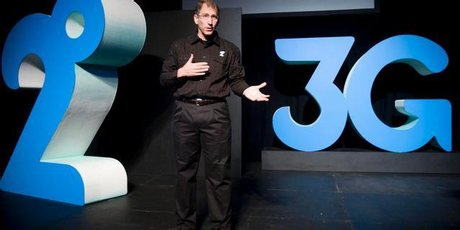 2Degrees chief executive Eric Hertz. Photo / Richard Robinson.