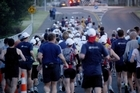 Runners start the original Legend run in 2005. Photo / Greg Bowker