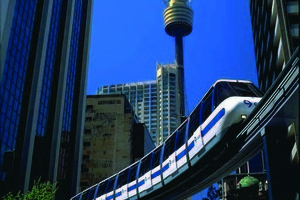 Sydney Monorail. Photo / Supplied