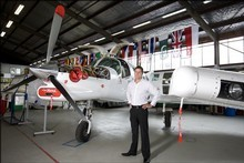 Damian Camp chief executive of Pacific Aerospace