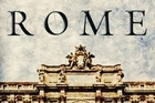 Book cover of Rome by Robert Hughes. Photo / Supplied