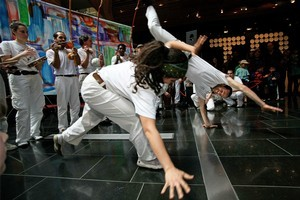 Capoeira performers at the Auckland Museum. Photo / Supplied