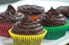 Chocolate and beetroot cupcakes with raspberry ganache. Photo / Supplied