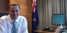 Watch: John Key's 'audition tape' for Letterman show