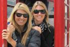 Gina McCarthy and Kim Hibbard in London. Photo / Supplied