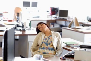 Nearly one quarter of Australians surveyed said they experienced fatigue or exhaustion as a result of their lack of sleep. Photo / Thinkstock