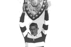 Kelvin Tremain lifts the Ranfurly Shield in 1967.