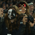 Fans get their cameras out during the All Blacks' Bledisloe Cup defence against Australia at  Eden Park. Photo / Getty Images