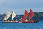 Six traditional voyaging canoes have completed their journey to San Francisco. Photo / NZPA/David Rowland