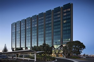 Recent Hawkins projects have included the Novotel (above), the Viaduct Events Centre, and the Auckland Art Gallry extension. Photo / Simon Devitt