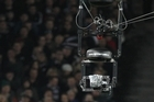 The camera hovers over the All Blacks match. Photo / Paul Estcourt
