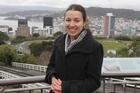 Short story winner Gemma Bowker-Wright in Wellington.  Photo / Mark Mitchell