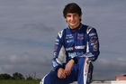 Aucklander Mitch Evans, 17, is performing well on his first foray into European motorsport. Photo / Getty Images
