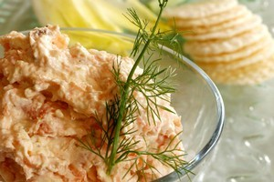 Salmon offcuts are great for making dips and spreads. Photo / Janna Dixon