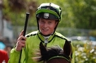 Top New Zealand apprentice James McDonald is thrilled his first win at Flemington was in a Group race.  Photo / NZ Herald