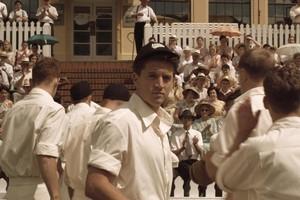 Ryan O'Kane is cricketeer Bob Blair in Tangiwai. Photo / Supplied