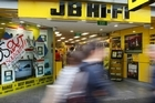 JB Hi-Fi has opened 18 new stores across Australia and New Zealand in the past year. Photo / Greg Bowker