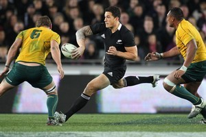 Sonny Bill Williams says he wants to settle on his Super 15 home before the World Cup. He has had offers from the Chiefs and the Blues. Photo / Paul Estcourt