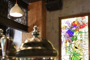 Luke Dallow's Red Hummingbird Restaurant. Photo / Supplied