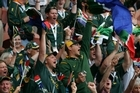 South African fans during the 2007 Rugby World Cup in France. Photo / Brett Phibbs