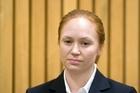 Rotorua woman Kara Hurring appears in the Rotorua District Court. Photo / file