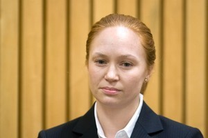 Rotorua woman Kara Hurring appears in the Rotorua District Court. Photo / file