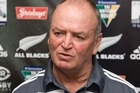 Graham Henry says the All Blacks' top ranking has its negatives. Photo / Mark Mitchell
