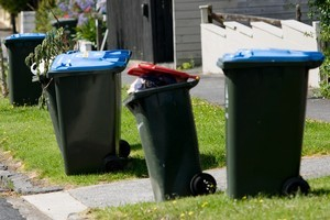 Auckland's future waste disposal is likely to have wheelie bins for all. Photo /  Dean Purcell