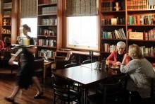 The Library Cafe. Photo / Janna Dixon