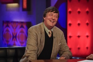 Stephen Fry. Photo / Supplied