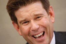 A sale of MediaWorks would mean new bosses for stars like John Campbell. Photo / Richard Robinson